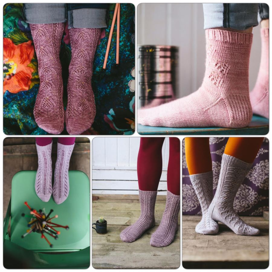 montage image lazy sunday socks jane burns